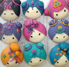 Geisha Cupcakes