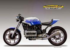 Racing Cafè: Cafè Racer Concepts - Bmw K100 Supercafè by Oberdan Bezzi