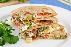 goat cheese roasted tomatoes and asparagus quesadilla goat cheese ...