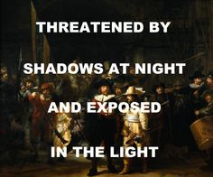 pinkfloydart: pinkfloydart: Shine On You Crazy Diamond - Pink Floyd / The Night Watch - Rembrandt Reblogging in celebration of finally seeing this painting at the Rijksmuseum!