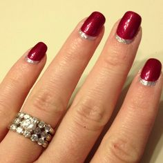 Reverse French manicure!?