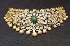 Unique Pachi Work Choker by Mahalaxmi Jewellers