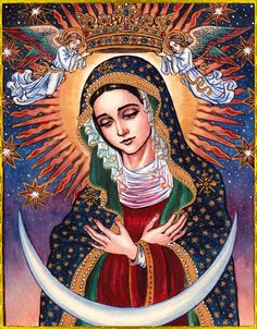 Mary, Queen of Heaven and Earth, intercede for us!