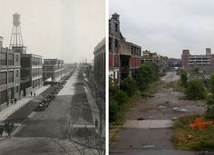 15+ Then And Now Photos That Show The Shocking Transformation Of Detroit - AroundMe.com
