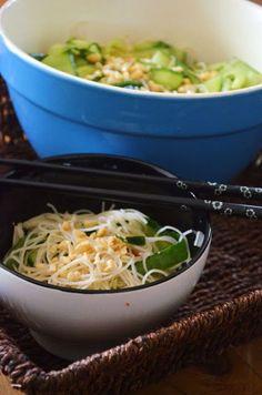 Cambodian Cucumber & Vermicelli Salad