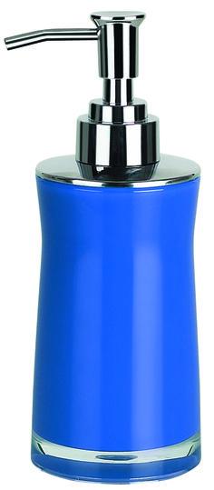 Navy Blue Bathroom Set Soap Dish Dispenser Toothbrush Holder Cup ...