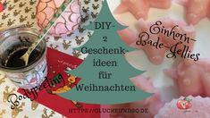 DIY-Body Peeling und Einhorn-Bade-Jellies
