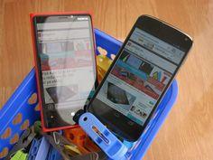 Nokia Lumia 920 and Google Nexus 4