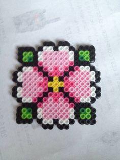 Lotus flower perler by LadyRaveicorn