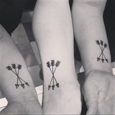 Tatouage soeurs flèches