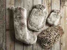 8c83a22dc1404 Next Faux Fur Christmas Stocking   Hot Water Bottles Winter Warmers