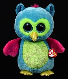 Opal (large) - owl - Ty Beanie Boos                                                                                                                                                                                 More