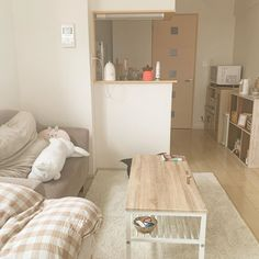 Home Living Room, Room Ideas Bedroom, Muji Home, Minimalist Room, Apartment Interior, Cool Rooms, Girl Bedroom Designs, Home Decor, Room Decor Bedroom