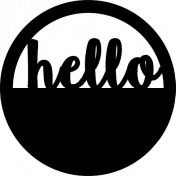 Sé Negrita Plantillas- Hola Label