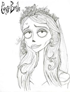 corpse bride coloring pages - Google Search