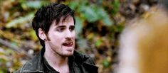 That tongue. That face. I'm so dead. Killian Jones in 6x17