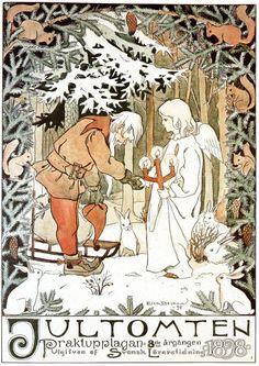 Jultomten 1898 Elsa Beskow