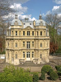 """""""Château de Monte-Cristo"""" of the famous writer Alexandre Dumas, Le Port-Marly, Yvelines, France Kirchen, Monte Cristo, Chateaus, Beautiful Architecture, Beautiful Buildings, Beautiful Castles, Cathedrals, France Travel, France Europe"""