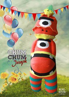 Sock Doll CHUM CHUM -- Joseph