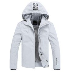 Brand New Men Jackets And Coats Veste Homme Plus Size M-4XL Top Quality Spring Jacket Man Hooded Outerwear
