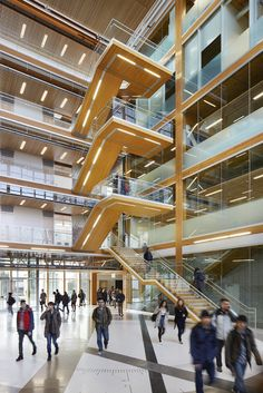 Image 4 of 12 from gallery of Earth Sciences Building  / Perkins + Will. Photograph by Martin Tessler