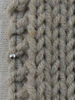 Forskellige kantmasker Knitting Stiches, Knit Stitches, Knitting For Beginners, Knit Crochet, Homemade, Crafty, Diy, Design, Inspiration