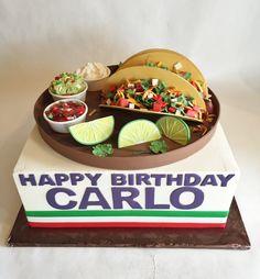 Birthday Cake | Buttercream | Fondant | Tacos | Salsa | Guacamole | Sour cream | limes | cilantro | steak | pork | chicken | baked custom cakes |