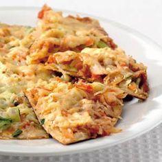Recept - Tortilla's uit de pan met gerookte kip - Allerhande