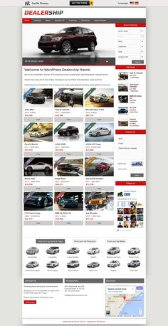 Dealership  from Gorilla Themes - a stunning wordpress theme.
