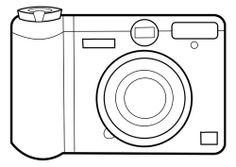 Various Camera Types For Coloring Pages Edition Camera Coloring Pages. The camera is a famous electronic in the world, especially for the photographer or photography world. This tool could catch your Free Coloring Sheets, Free Printable Coloring Pages, Coloring Pages For Kids, Coloring Books, Simple Camera, Holidays Around The World, Books For Teens, Book Images, Teaching Materials