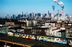 Photo from lightbox at time.com (link below) on a article titled 'Graffiti: Preserving New York's history of graffiti art' by Kenneth Bachor
