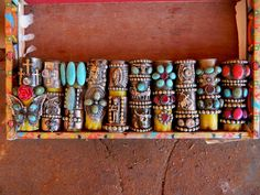 Big pile of cigar band rings~Enter to win a pair of awesome earrings!!  http://farmerstrophywife.com/2012/12/13/quiet-around-here/comment-page-3/#comment-103882