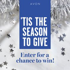 I just entered the Avon Holiday Sweepstakes for a chance to win one of eight weeks of Avon Gift Giving! Avon Sales, Mascara, Avon Online, Avon Representative, Sign I, Tis The Season, Holiday Gifts, Medium, Seasons