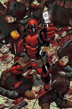 #Deadpool #Fan #Art. (Bloody Hell) By: Lan-Navarro. [Thanks for Pinning everyone!]