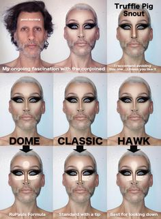 Mathu Andersen: Nose Contour Chart...a bit disturbing, but good to know