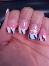 """Candy Cane Inspired Christmas Nails - Nail Art Gallery by NAILS Magazine"""" data-componentType=""""MODAL_PIN"""