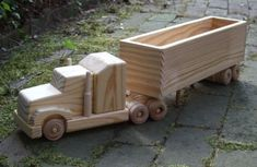 Wooden Toy Trucks Making wooden
