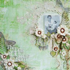 Marilyn Rivera-A DT work for 2 Crafty Chipboard using the Garden Fable collection by Prima Marketing.