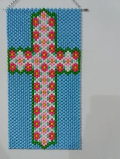 Beaded Banners, Logos, Beads, Art, Cup Holders, Beading, Art Background, Logo, Kunst