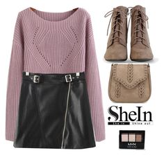 """""""Shein autumn"""" by gabygirafe ❤ liked on Polyvore featuring NYX"""