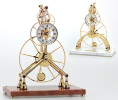 Clocks that are collectible frequently have features that make them difficult and expensive to repair, such as a Brocot escapement. French clocks and Atmos clocks are collectible, but they are much more difficult to repair than other clocks and more difficult to keep running. Carriage clocks and Vienna Regulator Read more
