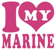 I Love (Heart) My Marine USMC Indoor/Outdoor Vinyl Decal, MultiPurpose - For Your Auto, Wall, Window and More Purchase this product along with all of our other spectacular decals through one of the following links:   https://www.etsy.com/shop/MiaBellaDesignsWI  http://www.amazon.com/s?marketplaceID=ATVPDKIKX0DER&me=A2MSEOIVL689S1&merchant=A2MSEOIVL689S1&redirect=true
