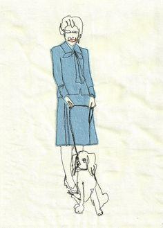 ladyinblue by Sarah Walton, via Flickr
