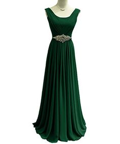 Tivansi Women's Long Chiffon Straps Prom Bridesmaid Dresses Size 2 US Hunter Green Tivansi http://www.amazon.com/dp/B0141SRS1K/ref=cm_sw_r_pi_dp_zVVbxb10STW4G