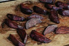 Rezept für Rote Beete aus dem Ofen - Winterliches Gemüse - Rote Beete mit geräuchertem Paprika Pulver