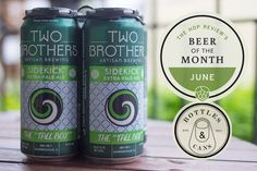 The Hop Review – Interviews & Beer Banter – BOTM: Two Brothers Sidekick Beer Of The Month, Tall Boys, Bottle Shop, Two Brothers, Brewing, Ale, Travel Photography, Two By Two, Interview