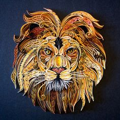 Hear Me Roar | Quilled Lion