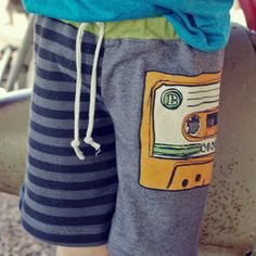 Download The Jaden T-Shorts Sewing Pattern | BOYS | YouCanMakeThis.com