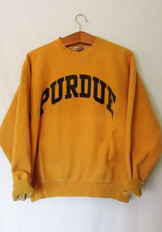 Vintage 1990's Purdue Sweatshirt by FreshtoDeathVintage on Etsy