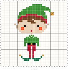 Stitch Fiddle is an online crochet, knitting and cross stitch pattern maker. Cross Stitch Stocking, Xmas Cross Stitch, Simple Cross Stitch, Cross Stitch Charts, Cross Stitch Designs, Cross Stitching, Cross Stitch Embroidery, Cross Stitch Patterns Free Christmas, Cross Stitch Christmas Ornaments